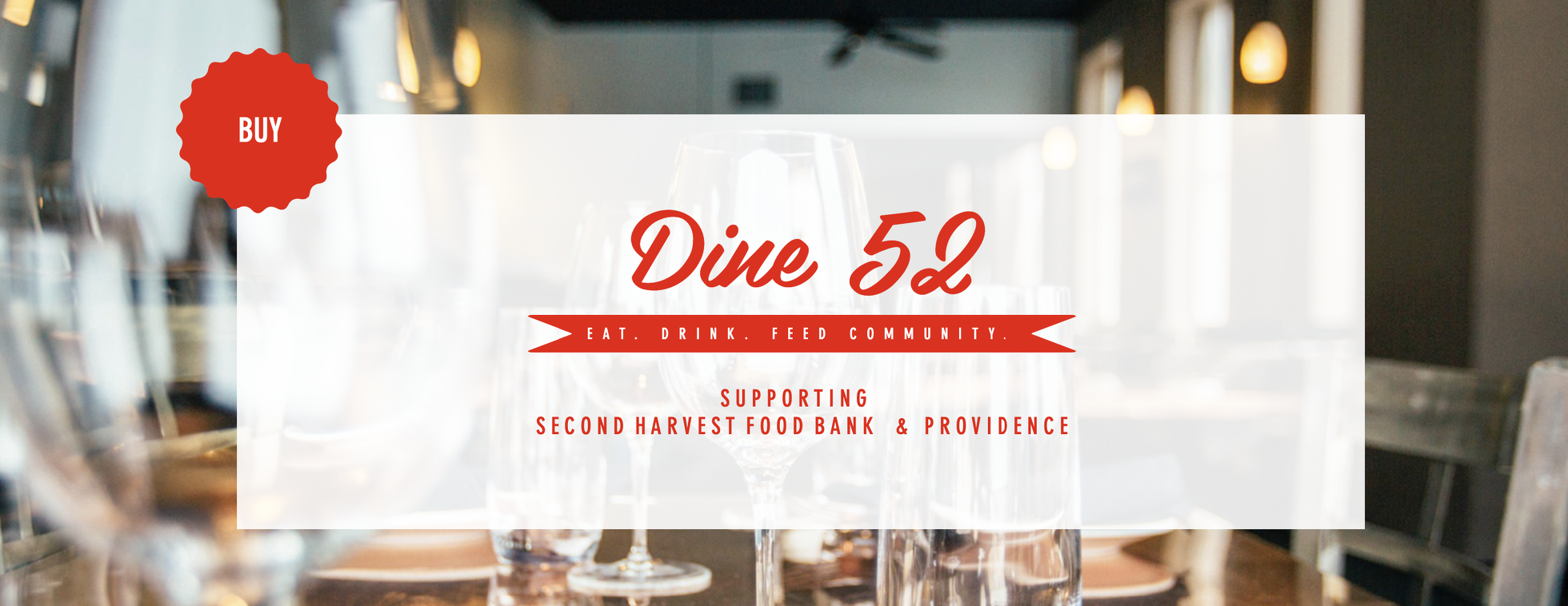 Dine 52: The Most Delicious Raffle Ever!